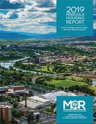 2019 Missoula Housing Report Cover