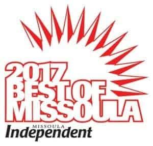 Best of Missoula logo, 2017