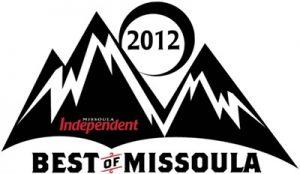 Best of Missoula logo, 2012