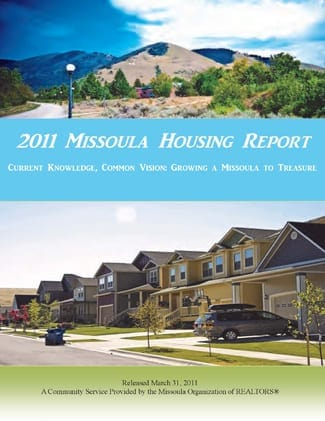 Cover Page, 2011 Missoula Housing Report