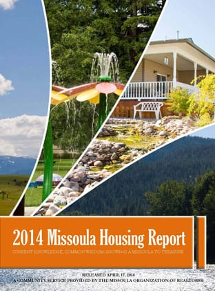 Cover Page, 2014 Missoula Housing Report