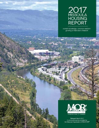 Cover Page, 2017 Missoula Housing Report
