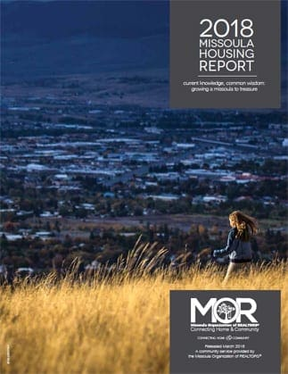 Cover Page Image, 2018 Missoula Housing Report